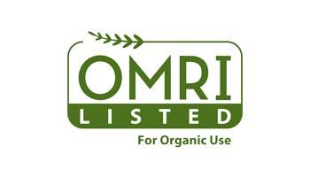 Certified by OMRI